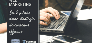 Les 5 piliers d'une strategie de contenus efficaces