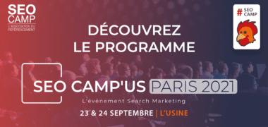 SEOCamp'us Paris 2021